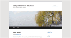 Preview of comparecaravaninsurance.info