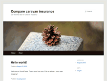 Tablet Preview of comparecaravaninsurance.info